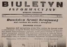 Страница газеты Армии Крайовой от 1 августа 1944 года с сообщением о начале восстания. Фото с сайта Gazeta Wyborcza