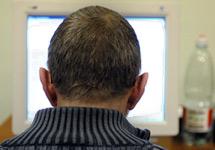 Человек и компьютер. Фото Граней.ру