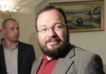Станислав Белковский на презентации своей книги. Фото Д.Борко/Грани.Ру