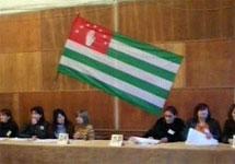 Выборы в Абхазии. Кадр НТВ