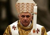 Папа римский Бенедикт XVI. Фото АР