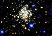 Скопление Arches расположено менее чем в сотне световых лет от сверхмассивной черной дыры нашей Галактики. Изображение: Don Figer/STScI/NASA с сайта NewScientist