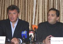 Борис Немцов и Владимир Милов. Фото с сайта nemtsov.ru