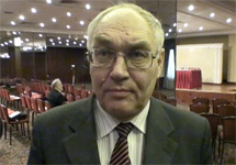 "Социолог Лев Гудков. Кадр ""Грани-ТВ"""