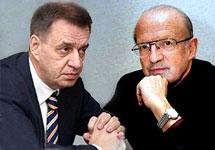 Алексей Кондауров и Андрей Пионтковский. Коллаж Граней.Ру