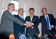 Сопредседатели Партии народной свободы. Фото с сайта www.kasyanov.ru