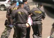 Разгон гей-прайда в Москве. Съемка Дмитрия Зыкова\Грани-ТВ