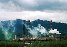 Байкальский ЦБК. Фото с сайта www.bellona.ru