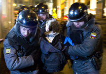Задержания на Триумфальной 04.12.2011. Фото Е.Михеевой/Грани.Ру