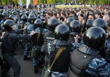 Столкновения на Болотной. Фото В.Максимюк/Грани.Ру