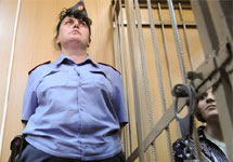 Екатерина Самуцевич в Таганском суде. Фото: Грани.Ру