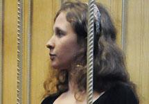 Мария Алехина в суде 4 июля. Фото Ники Максимюк/Грани.Ру