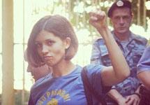 Надежда Толоконникова в суде 08.08.2012. Фото Алексея Навального