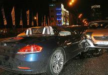 На месте ДТП с участием игумена. Фото с сайта Газеты.Ру
