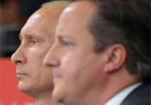 Владимир Путин и Дэвид Кэмерон. Фото: rusemb.org.uk