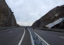 Обрушение на трассе в Приморье. Фото с официального сайта