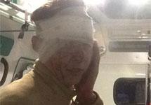 Игорь Бакиров в машине скорой помощи. Фото Тимура Хорева (@TimurKhorev)
