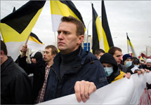 Алексей Навальный на Русском марше, 2011. Фото: taek.livejournal.com