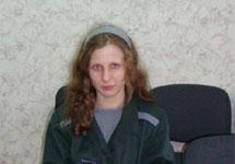 Мария Алехина в кабинете начальника ИК-28 в Березниках. Фото: prpc.ru