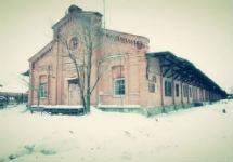 Пакгауз Варшавского вокзала. Кадр Питер.Тв