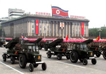 Военный парад в Пхеньяне. Фото: internationalpost.co