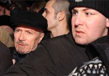 Эдуард Лимонов на Триумфальной. Фото Л.Барковой/Грани.Ру