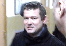 Леонид Развозжаев в Басманном суде. Кадр Грани-ТВ