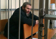 Борис Стомахин в суде. Фото Д. Зыкова/Грани.Ру