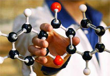 Модель молекулы. Фото: Getty Images