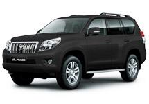 Toyota Land Cruiser Prado. Фото с официального сайта Toyota