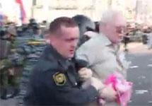 Задержание Олега Гариги на Болотной площади