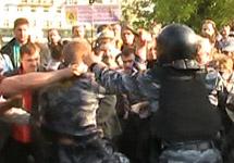 Михаил Косенко на Болотной площади. Кадр Грани-ТВ