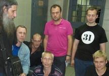 Задержанные активисты в ОП-5 Нижнего Новгорода. Фото: nn.ru