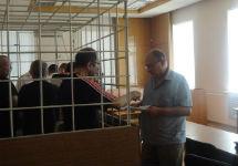 Правозащитники в зале суда. Фото Ивана Шукшина