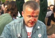 Виктор Захаров на Болотной. Фото: 6may.org