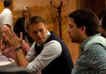 Алексей Навальный и Леонид Волков. Фото из Facebook Леонида Волкова