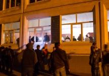 У избирательного участка в Видном. Фото: vidnoe24.ru