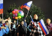 Собянинг вечером 8 сентября на Болотной площади. Фото Ники Максимюк/Грани.Ру