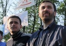 Илья Яшин и Илья Пономарев на Болотной площади. Фото В.Максимюк/Грани.Ру