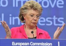 Вивиан Рединг. Фото с сайта Европейской комиссии