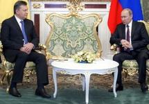 Виктор Янукович и Владимир Путин. Фото: president.gov.ua