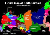 Будущая карта северной Евразии (фрагмент). Изображение: newzz.in.ua