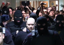 Даниил Константинов в суде. Кадр Грани-ТВ