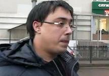 Михаил Безменский при задержании. Кадр оперативной съемки с youtube-канала Victor Bart