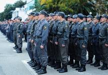 Сочинские полицейские на параде. Фото: yuga.ru