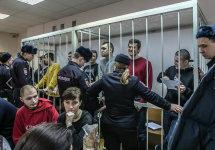 Болотный суд: последнее слово обвиняемых. Фото А.Барошина