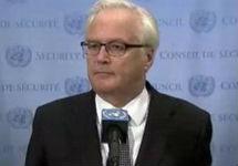 Виталий Чуркин в ООН. Фото: mid.ru