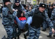 У Замоскворецкого суда 21 февраля. Фото Е.Михеевой/Грани.Ру