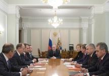 Совещание членов Совбеза. Фото: kremlin.ru