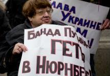 Валерия Новодворская на Марше мира. Фото: Ю.Тимофеев/Грани.Ру